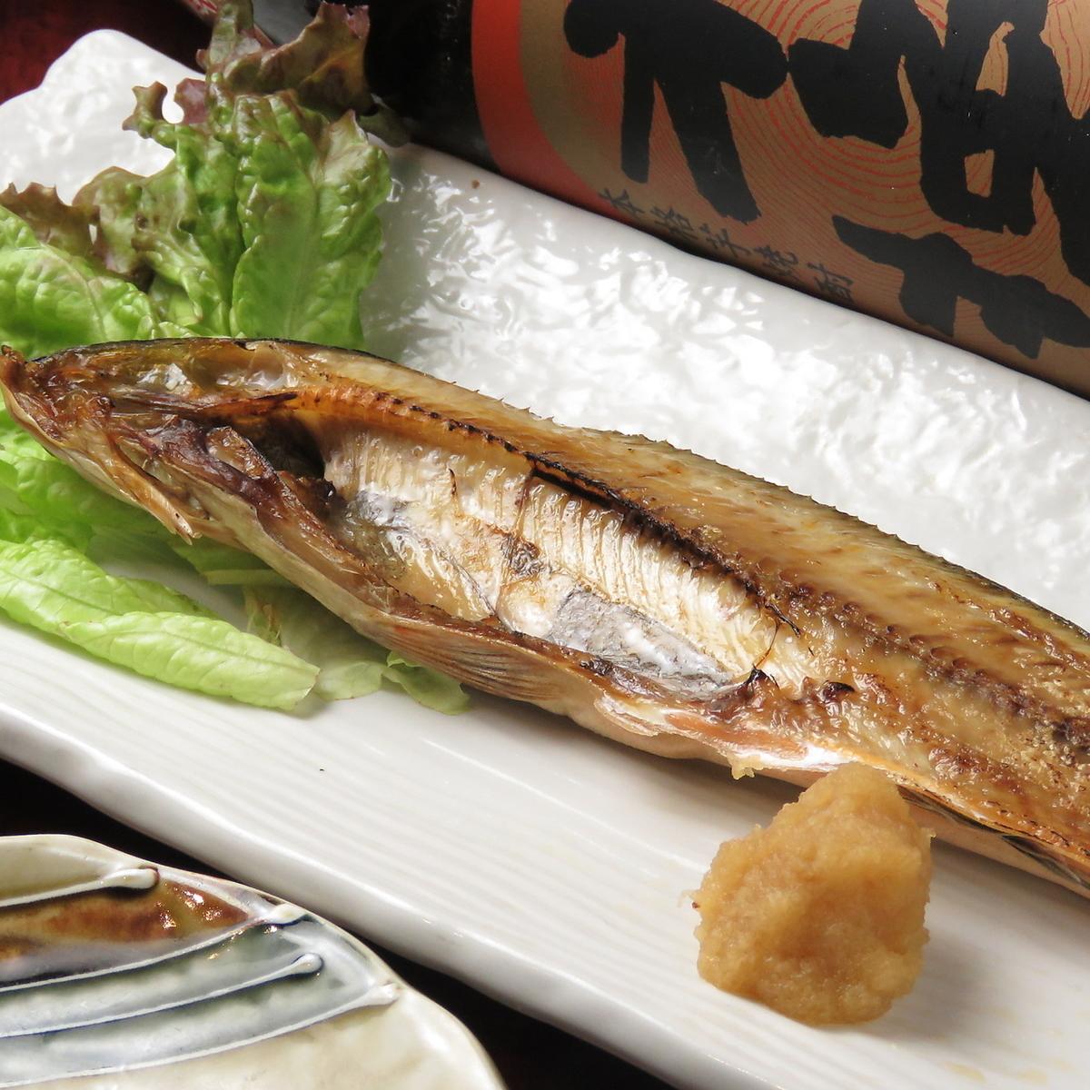 今天的烤鱼