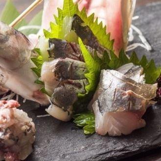 나가사키 현산 소 생선회