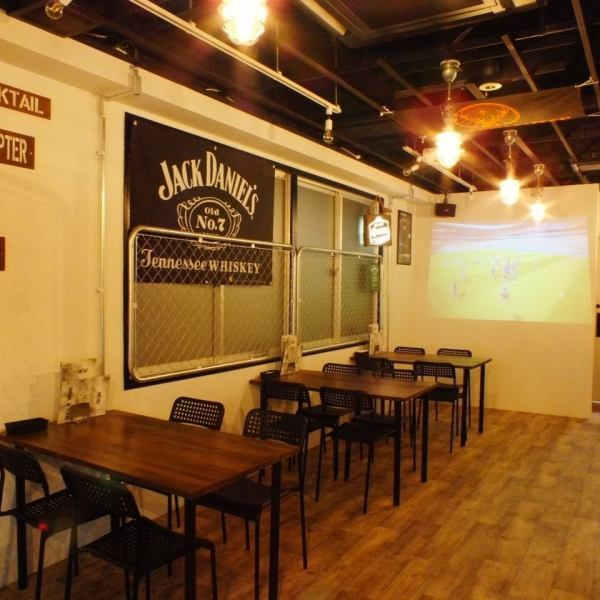 """Completion of projector"" Since our shop is preparing large projectors, it is perfect for watching sports etc. ★ You can drink various sports like soccer, baseball, rugby etc with one hand! Because it is also possible to run surprise movies , ♪ use at the party ♪"