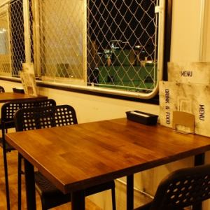 【2 people table】 One person ~ You can use! Recommended for dating ♪