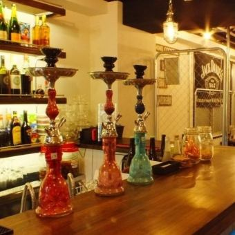 【All you can drink】 Girls' Group plan <4 people Shisha 1 service ★>