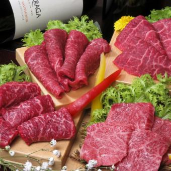 """4% miracle"" A5 Kuroge Wagyu beef = lean meat assorted assortment = 【complete booking】"