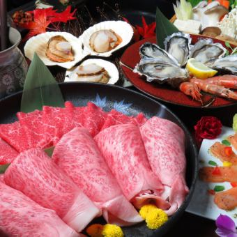【New Year's party ☆ Special Sukiyaki course】 Raw OK 60 or more [Drinks] 10 items in total \ 8000 (tax included) / \ 10000 yen (tax included)