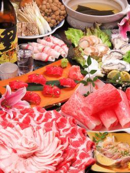 【被遺忘的年會☆特別涮鍋套餐】原料OK 60以上[飲用]所有11項目\ 8000(含稅)/ \ 10000(含稅)