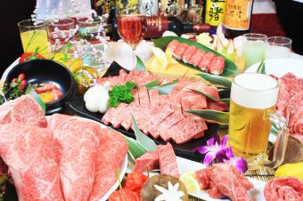 "Beer is OK! More than 60 kinds are carefully selected with 2H [drinking]! ""Kaede course"" 4000 yen (15 items)"