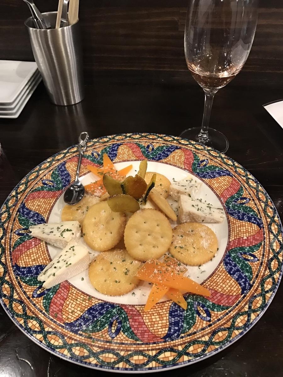 チーズ盛り合わせプレート