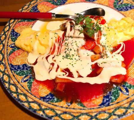 Fluffy Italian omelette