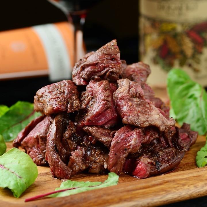 あっさり赤身肉のステーキ 和風おろしソース