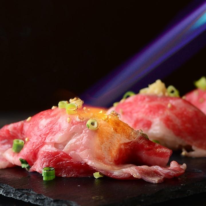 びすとろう特製肉寿司