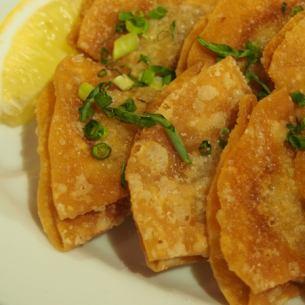 Fried fried dumplings (8 pieces)