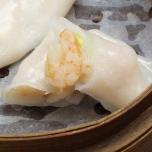 Shrimp steamed spring roll (3 pieces)