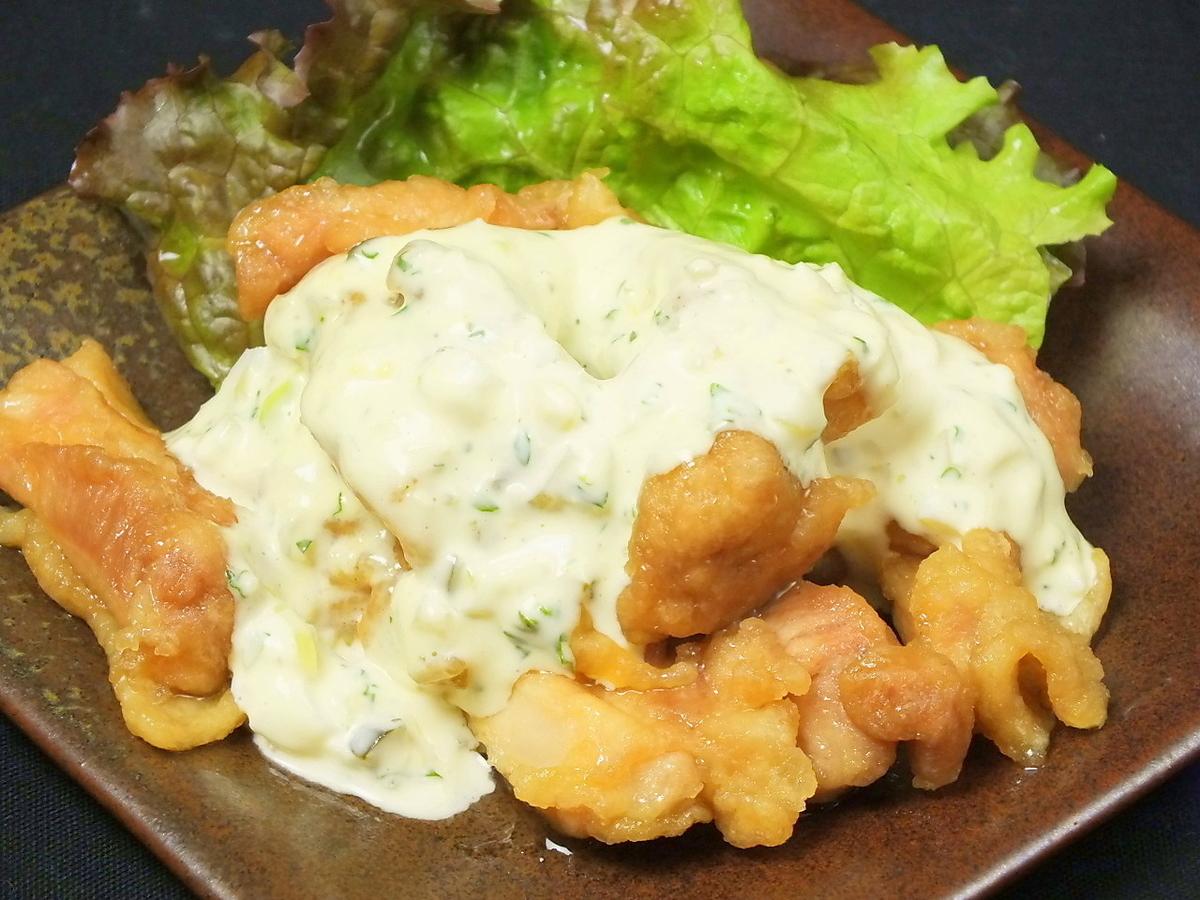 [Chicken] Salt-grilled, teriyaki, fried chicken, pickles in Nambucana