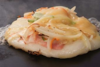烤鸡肉串培根奶酪