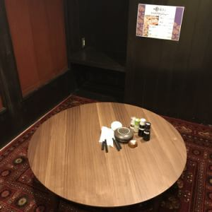 隠れ家感のあるお座敷個室は1部屋限定。最大6名様までご利用頂けます。