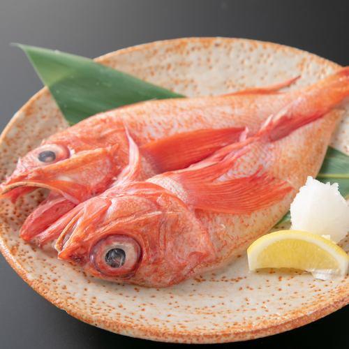 高級魚きんき塩焼き