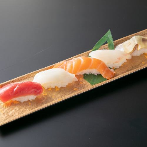 握り上寿司5貫
