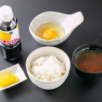 伊豆名物山葵飯/あさぎり赤玉子のTKGセット