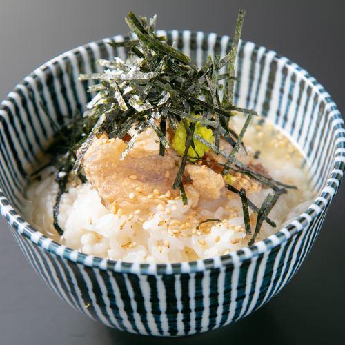 煮干し素ラーメン/鯛茶漬け
