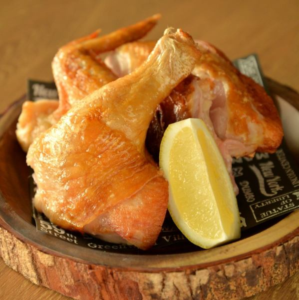 【Shopkeepers Recommended!】 Yamabara Juvenile Chicken Half-fried (Salted Pickled)