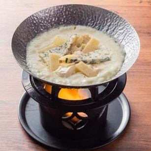 콰트로 치즈 퐁듀
