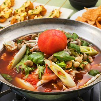 «我們想要數量和質量為您提供一個平衡導向的視角»一關計劃(整個番茄suki鍋)