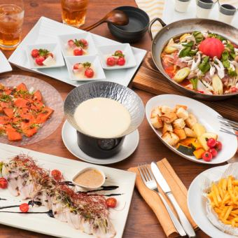 «One boasted cheese fondue is all you can eat» Buffet × fondue plan