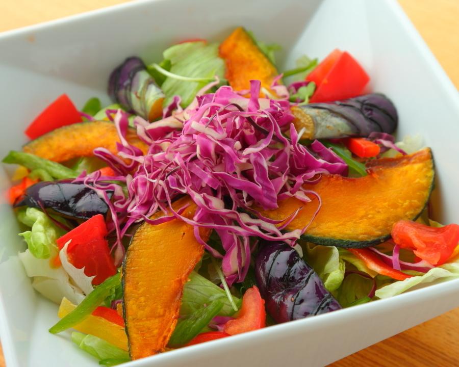 A lot of vegetables salad ~ ginger dressing ~