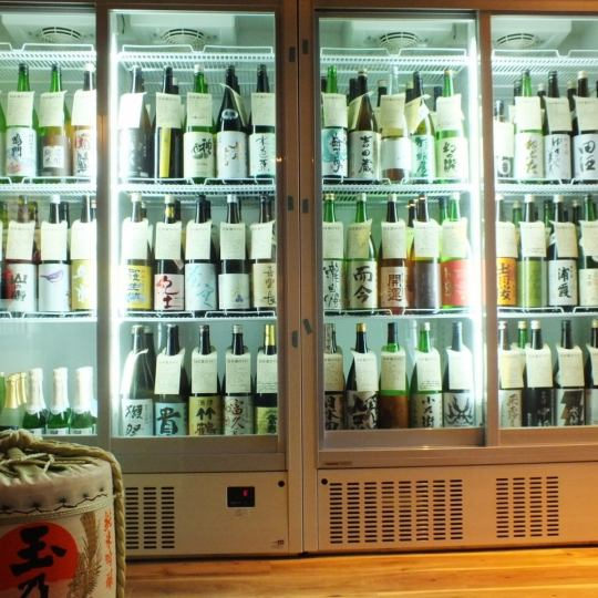 【Sun - Tree Limited】 - Sake 100 to 2 hours All you can drink 2000 yen * ONLY Sake