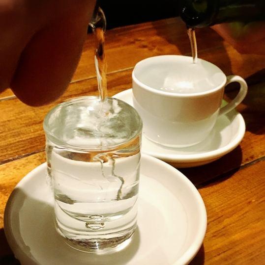 ★船橋×日本酒★今度は日本酒をこぼす!!イタマル流こぼし