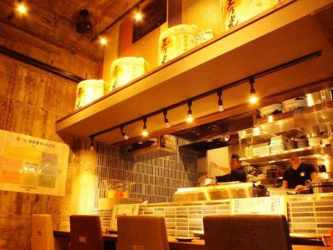 船橋初上陸!!新鮮野菜と豚バラ肉巻きのお店★全国の日本酒100種類500円均一!!カウンターではキッチンのライブ感を楽しめます!