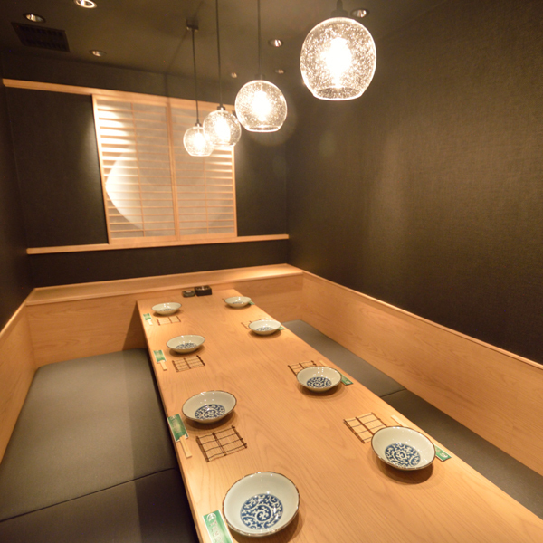 We have a number of complete private rooms with doors.It is a very popular seat that will be buried soon by reservation.Please feel free to contact the Omiya store first.We also have all you can drink together with a la carte.Reservations can be made for only seats.We look forward to your reservation.Courses can be prepared according to your budget.