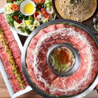 "You can choose a pot! ""Ayaba course"" meat cooker pot or tomato pan 8 items all-you-can-drink all-you-can-eat 5,000 yen ⇒ 4,000 yen"