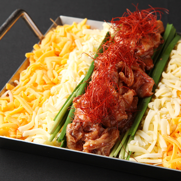 赤辛牛 힘줄의 철판 치즈 토로 고기 냄비 (2 ~ 3 인분)