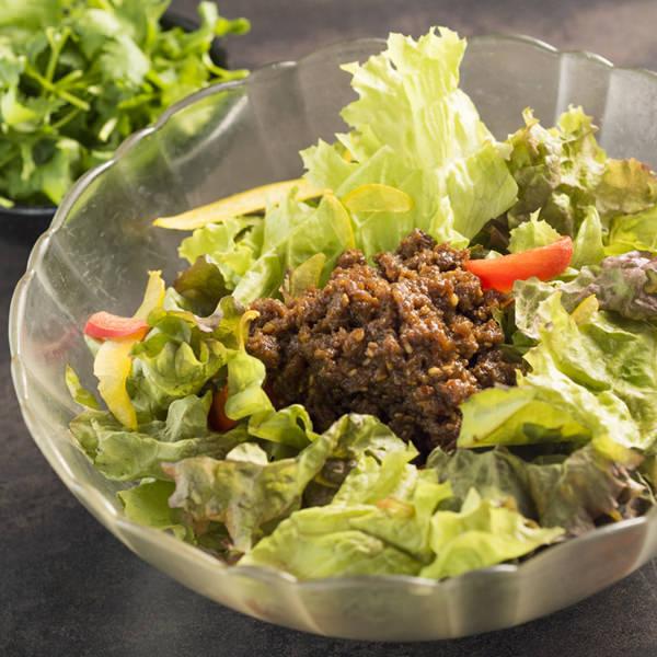 고기 된장 박지성 샐러드