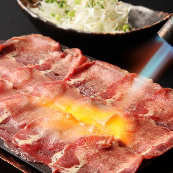 쇠고기의 융단 구이 ~ 파와 소금 범벅 ~