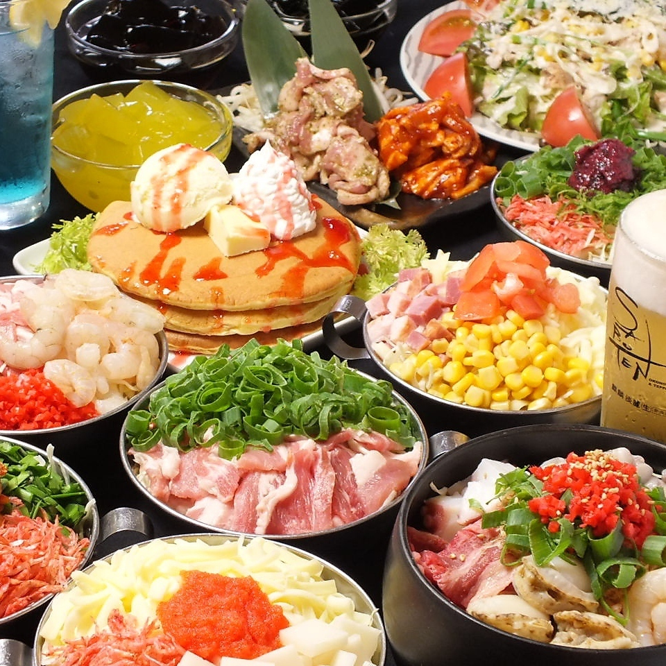 食べ飲み放3500円(税抜)~