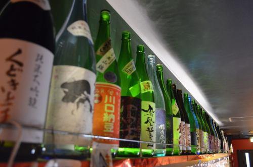 ホヤと言えば日本酒
