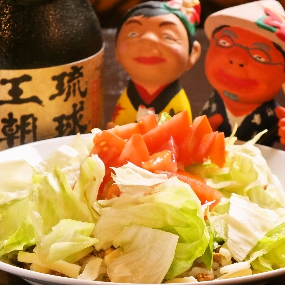Full authentic Okinawa · Miyakojima cuisine