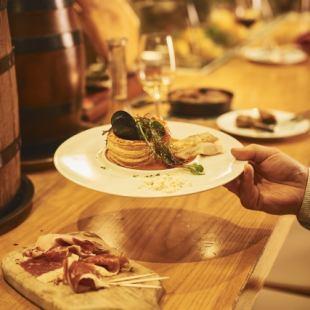 세련된 【바루후로아]은 바삭 바삭 마시는 것도 마음이 맞는 동료끼리 맛있는 프렌치를 부담없이 즐길 수 있습니다 ♪