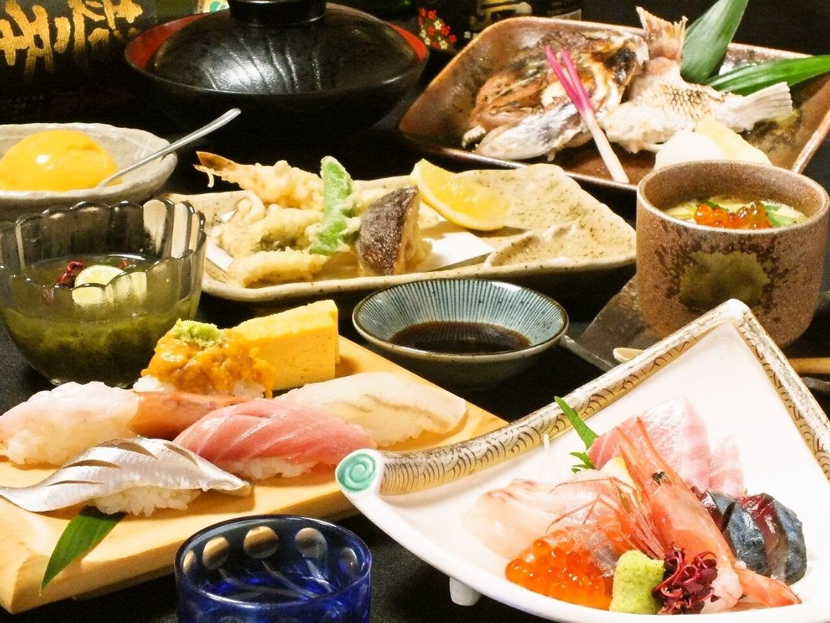 職人が握る本格江戸前寿司!価格だけでなく味・サービスにも自信あり!!