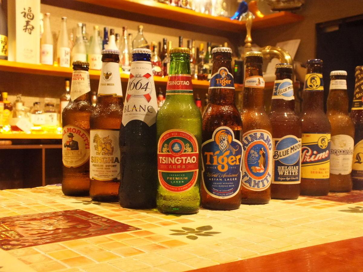 各国のビールが仲間入り♪