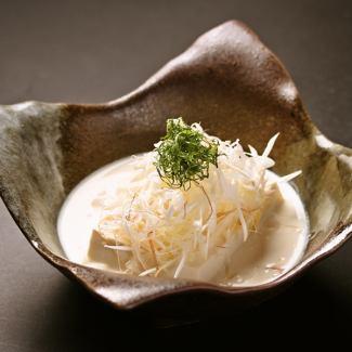 光滑的章鱼豆腐 - 放三种调味品〜