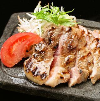 Grilled lava of Matsusaka pig