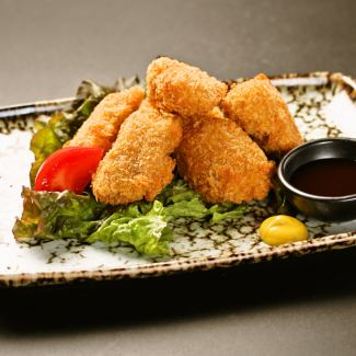 Matsusaka pig's bite cut tail ~ home-made ginger miso sauce ~