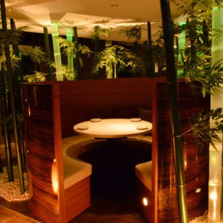 There is a fully-private room with a door for 2 to 4 people ♪ Please on birthday or anniversary.