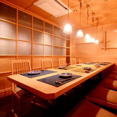 【Private room prepared for small group ☆】 It is a shop 5 minutes on foot from the station. ♪ We are preparing many Japanese-style rooms for relaxation! Namori-kazan modern space that makes you feel bamboo forest is a girls' association · Gokon ♪ Ideal ♪ Please spend the best time with a variety of alcohol and various drinks ... ♪