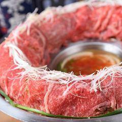 Matsusaka beef's meat cooker