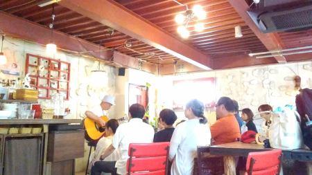 【開催レポート】8/27(日)わたなべゆうアコースティック生音ライブ