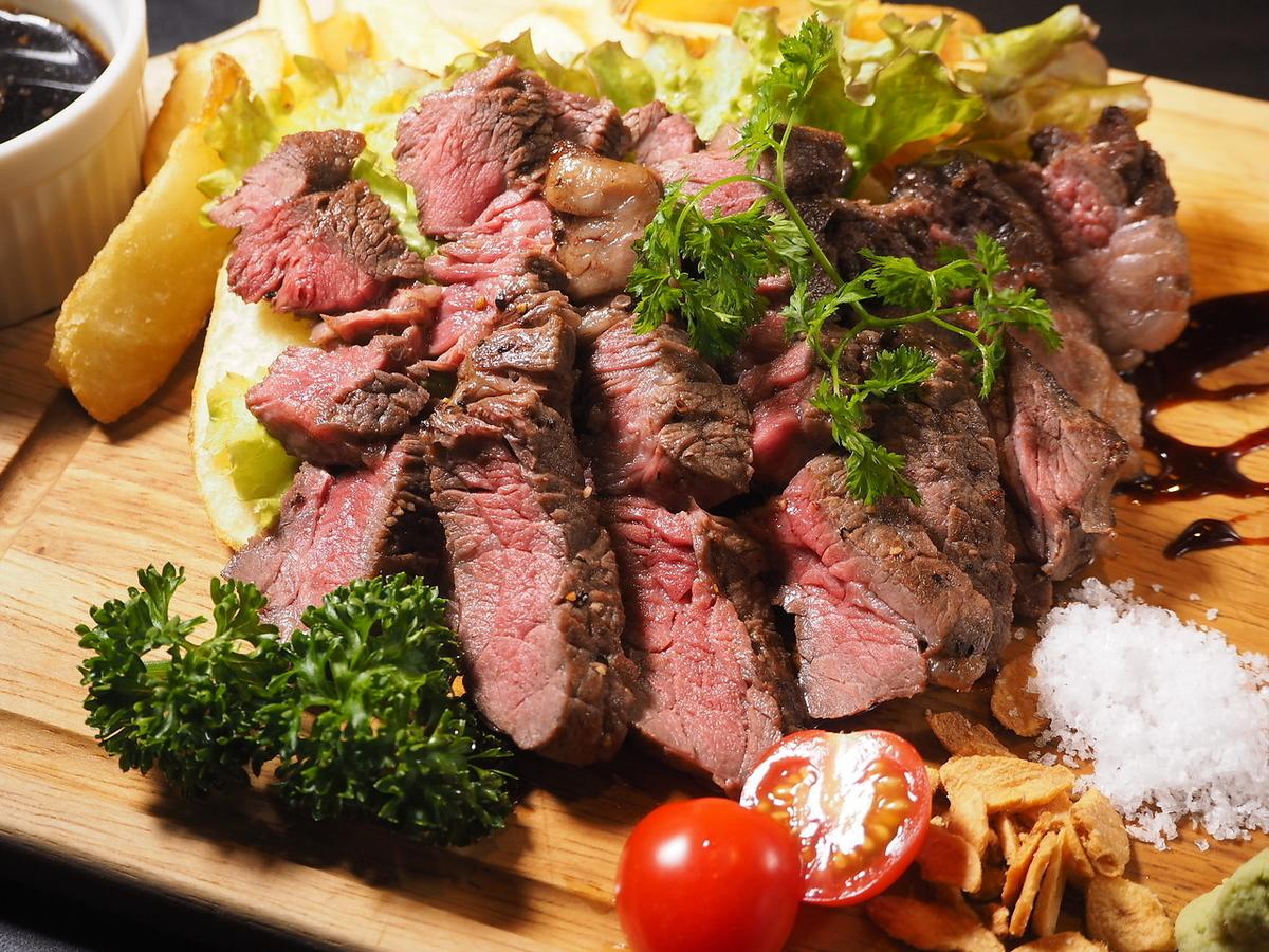 熟成肉 牛肩ロースステーキ