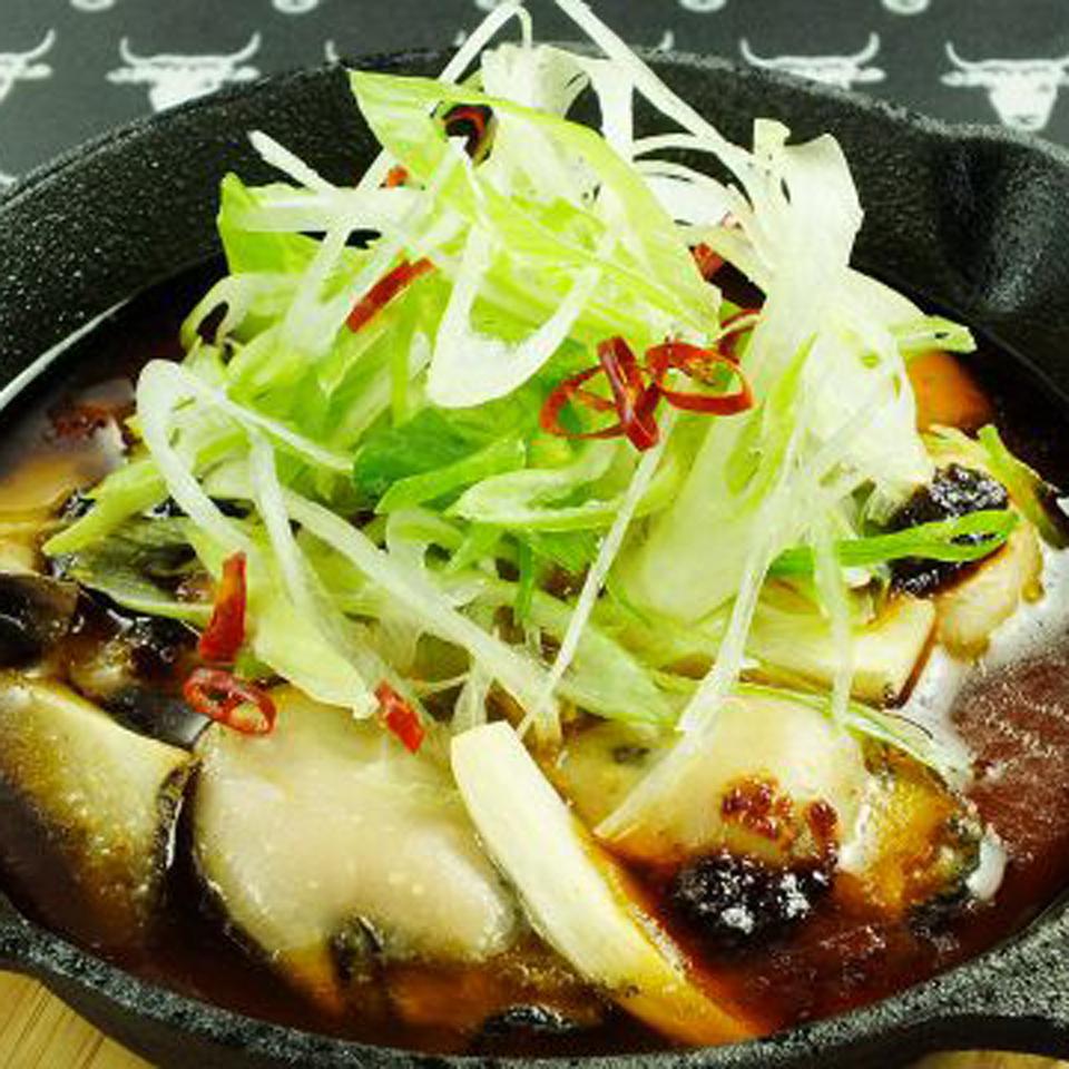 広島産カキのアヒージョ